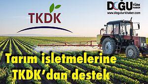 Tarım İşletmelerine TKDK'dan Destek