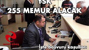 YSK 255 MEMUR ALACAK