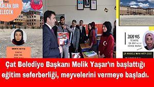 Başkan Yaşar'ın başlattığı eğitim seferberliği meyvelerini vermeye başladı.