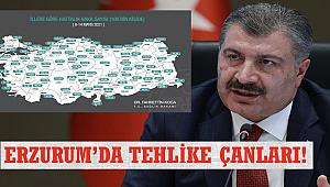 Erzurum'da tehlike çanları!