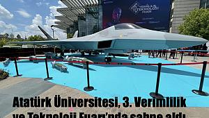 Atatürk Üniversitesi, 3. Verimlilik ve Teknoloji Fuarı'nda sahne aldı
