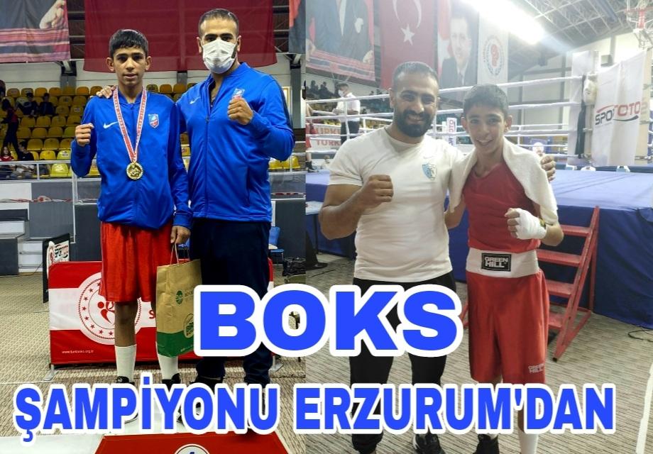 Boks Şampiyon'u Erzurum'dan