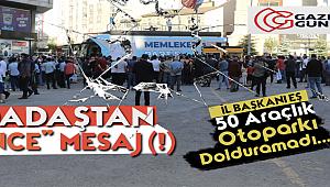 Memleket Partisi Erzurum'da Büyük Hayal Kırığı Yaşadı