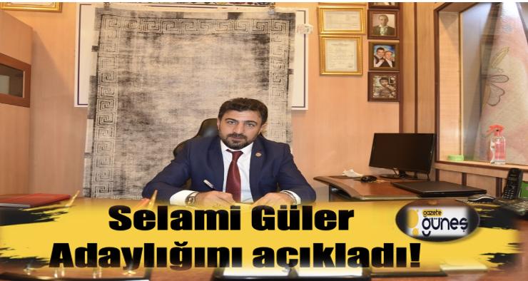 Selami Güler, Erzurum Lokantacılar Odası Başkanlığına adaylığını açıkladı